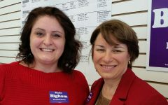 Alternate Text Not Supplied for Tina with Amy Klobuchar.